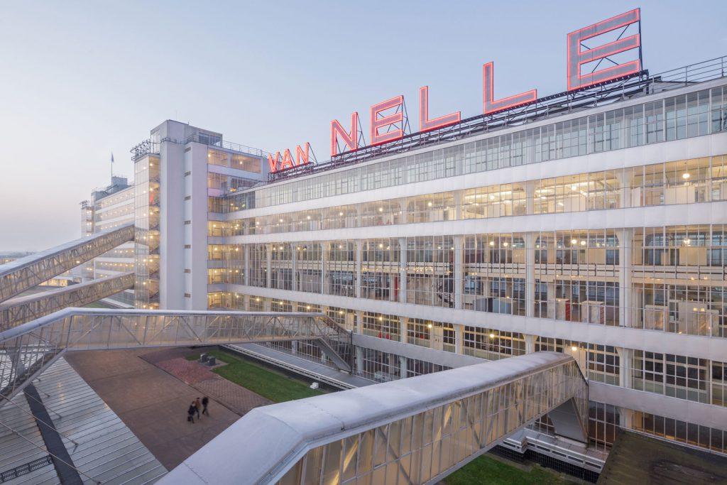Außenansicht der Van Nelle Fabrik