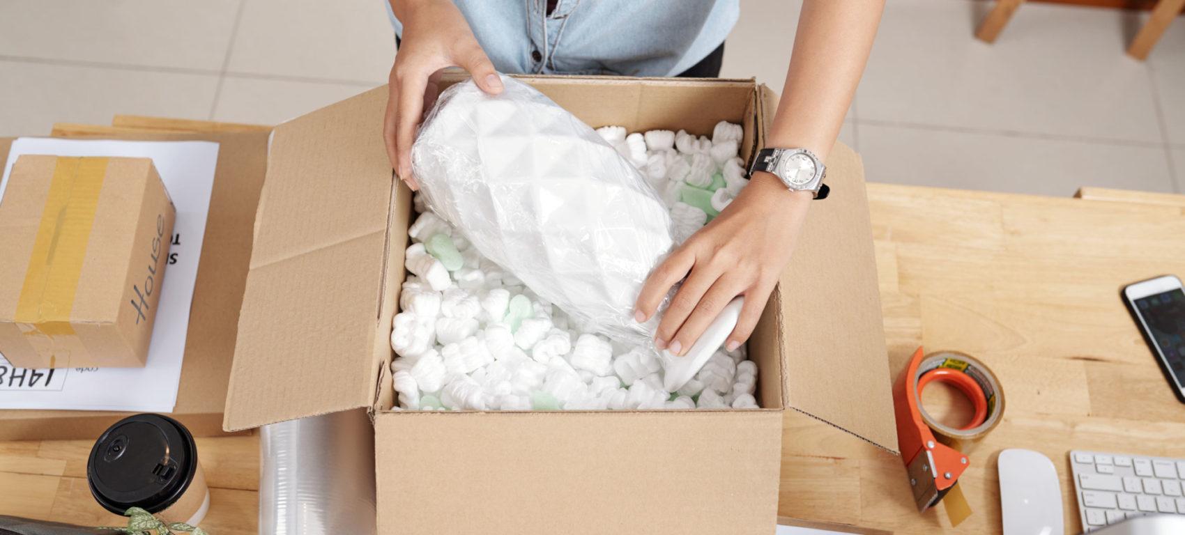 pakket verpakken
